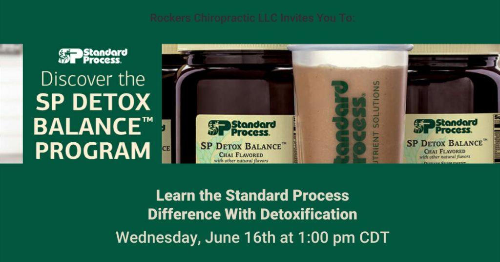 Standard Process Detox Program